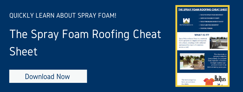 The spray foam roofing cheat sheet - download now