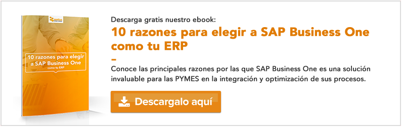 10 razones para elegir a SAP Business One como tu ERP