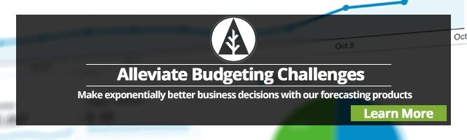 alleviate budgeting challenges with our forecasts