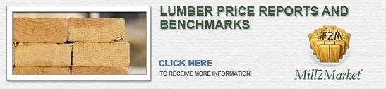 Lumber price reports and benchmarks
