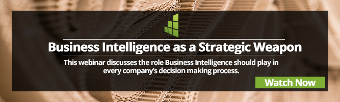 Business Intelligence as a Strategic Weapon