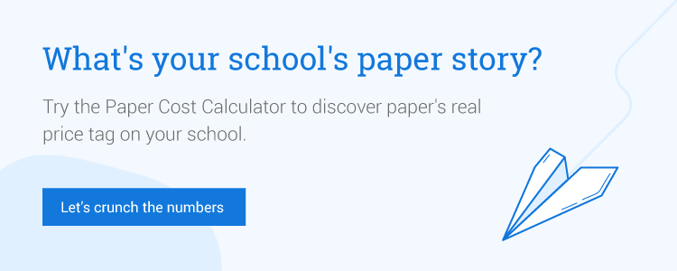Try the paper cost calculator