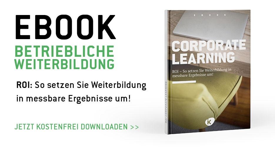 Kostenloses eBook: ROI - So setzen Sie betriebliche Weiterbildung in messbare  Ergebnisse um.