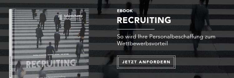 Bonus: Lesen Sie jetzt das kostenlose eBook '4 Schritte zur Modernisierung  Ihres Recruitings'