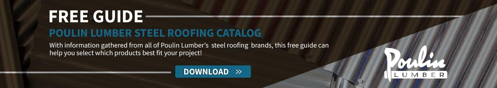 Poulin Lumber Steel Roofing pdf catalog download