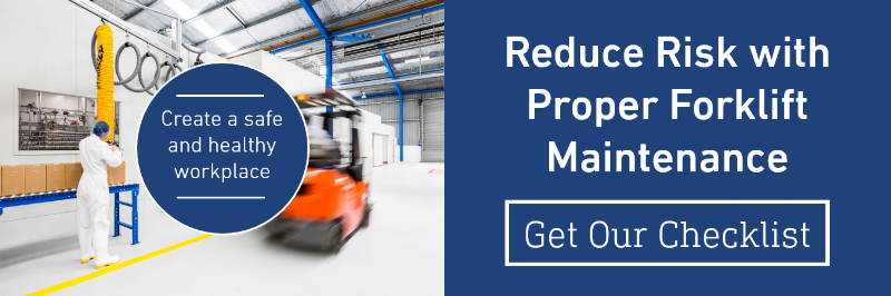 Forklift Maintenance Checklist