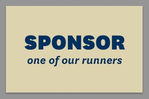 Sponsor one of our runners