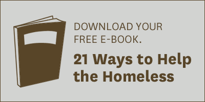 download free e-book with 21 ways to help the homeless