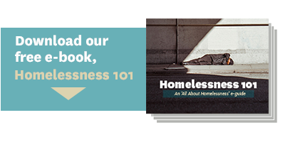 Download our free e-book, Homelessness 101