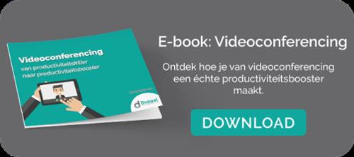 E-book Videoconferencing productiviteitsbooster