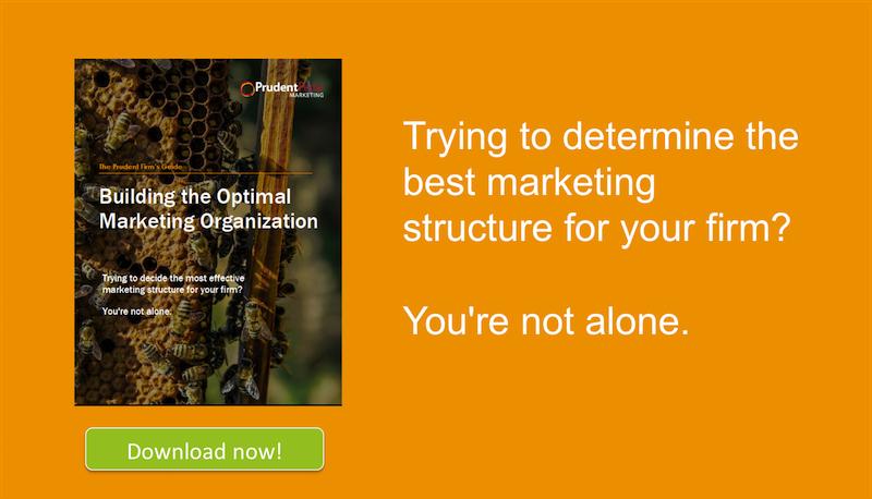 Building the Optimal Marketing Organization CTA