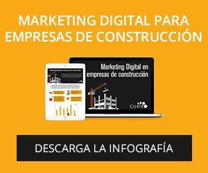 Infografía Marketing Digital Para Empresas De Construcción