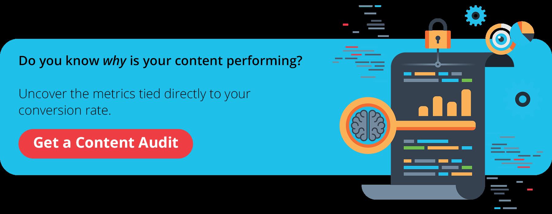 Get a Content Audit (CTA)