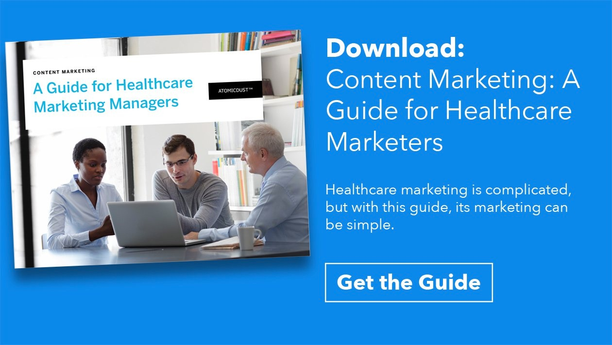 Download: Content Marketing– A guide for Healthcare Marketers