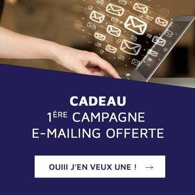 1ère campagne e-mailing offerte