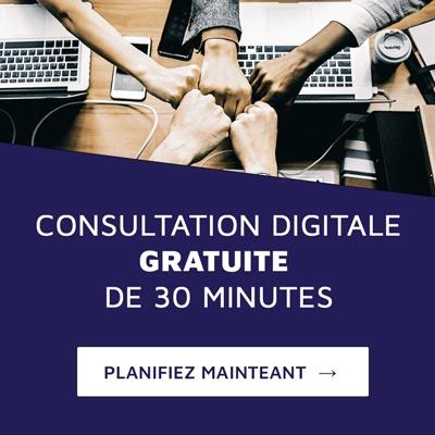 Consultation digitale gratuite de 30 minutes