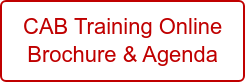 CAB Training Online Brochure & Agenda