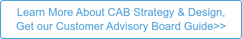 Learn More About CAB Strategy & Design, View our Customer Advisory Board Guide></noscript>>