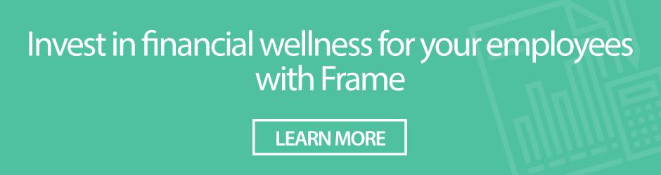financial wellness frame financial