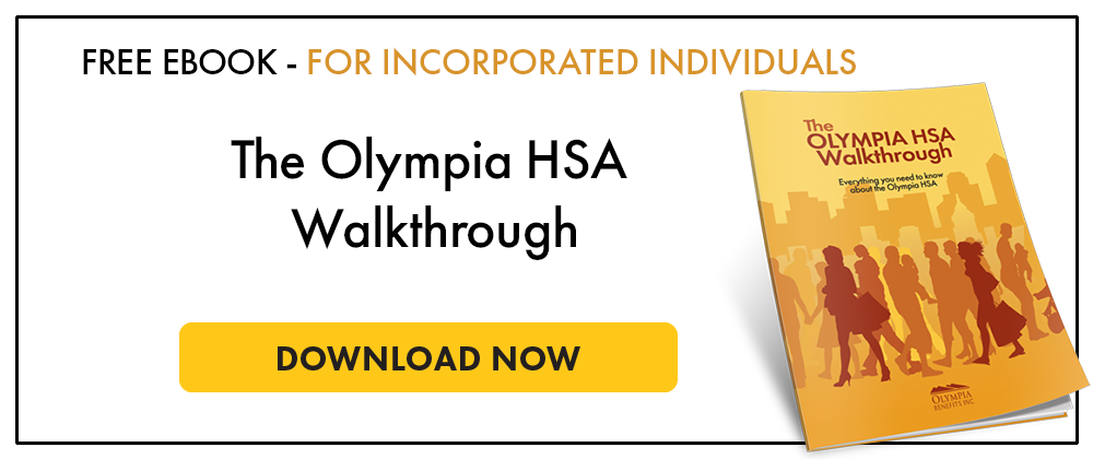 Olympia HSA Walkthrough for incorporated professionals