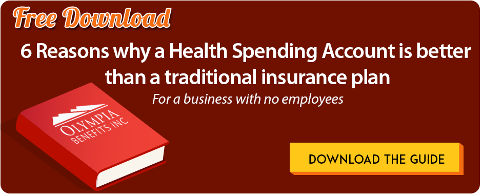 Download the eBook: HSA VS. HEALTH INSURANCE for a business with no arm's length employees