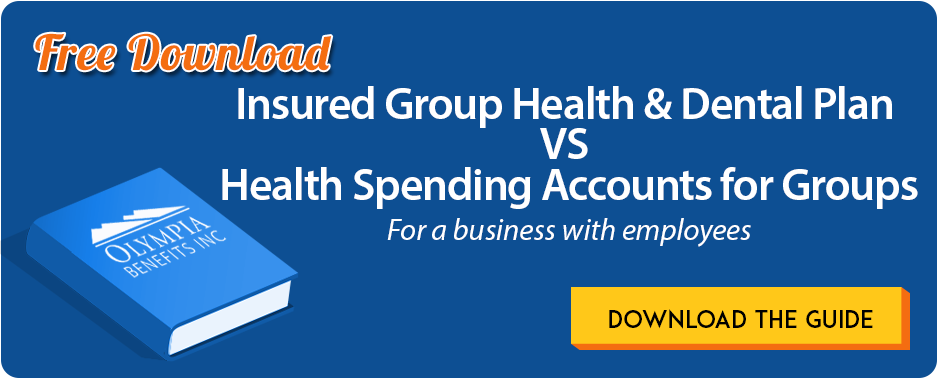 Download the eBook: HSA VS. HEALTH INSURANCE for a business with arm's length employees