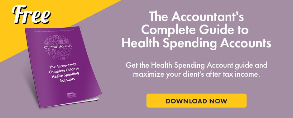 accountant health spending accounts