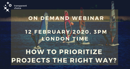 Free Webinar: How to prioritize projects the RIGHT way