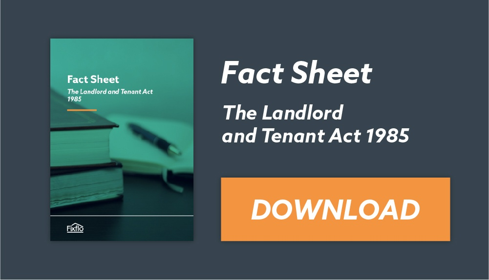 Landlord Tenant Act ebook cover
