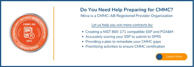 NIST Compliance for CMMC