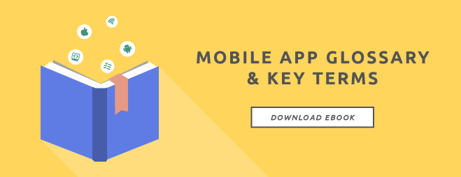 Mobile app glossary and key turns ebook