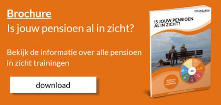 Brochure Pensioen in zicht trainingen