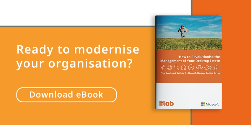 Ready to modernise your organisation? Download our eBook today.