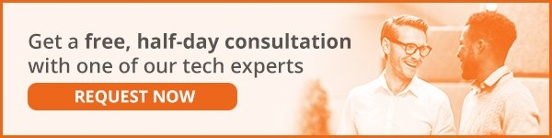 Request a free, half-day consultation with one of IT Lab's tech experts