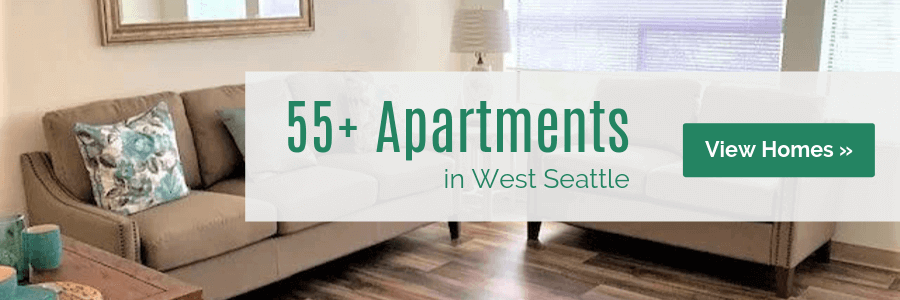 55+ Apartments in West Seattle