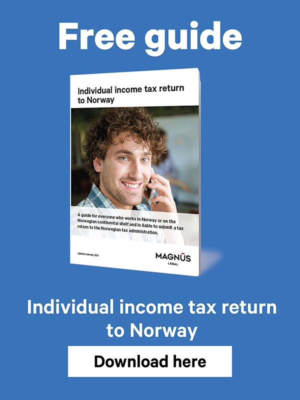 Guide for Individual Income Tax return in Norway