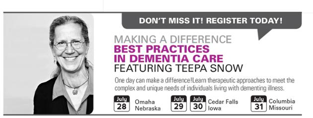 Senior Care Provider Education Opportunity