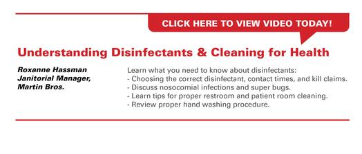UnderstandingDisinfectants&CleaningforHealth