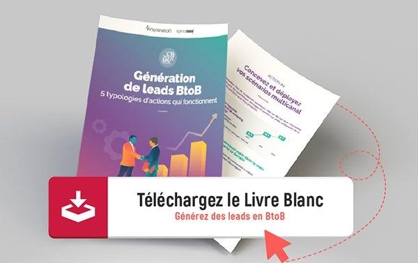Livre Blanc Webinaire Génération de leads BtoB