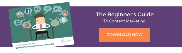 download the beginners guide to content marketing