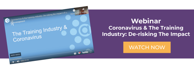 corona virus and the training industry webinar
