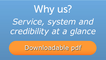 service, system an credibility at a glance