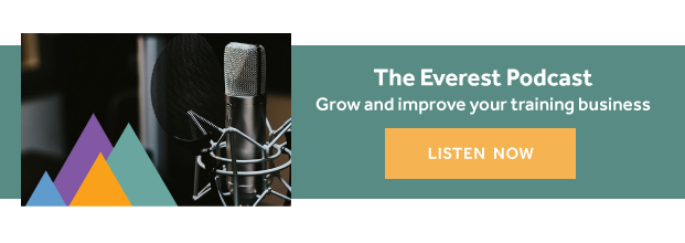 everest podcast- for training businesses - cta