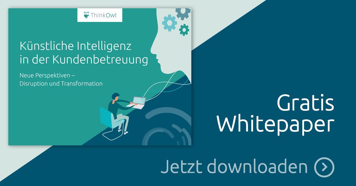 Whitepaper: Künstliche Intelligenz in der Kundenbetreuung
