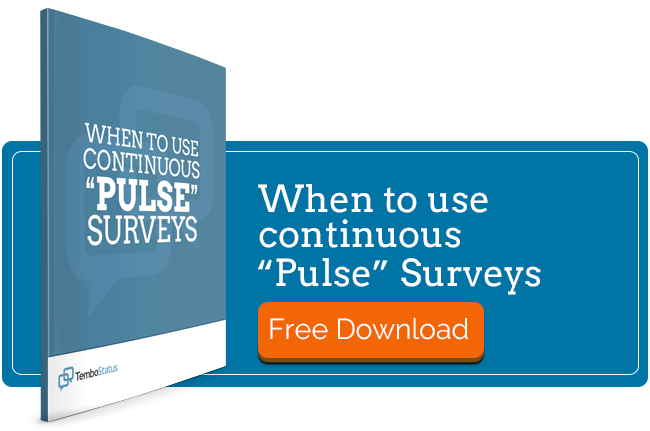 When To Use Pulse Surveys