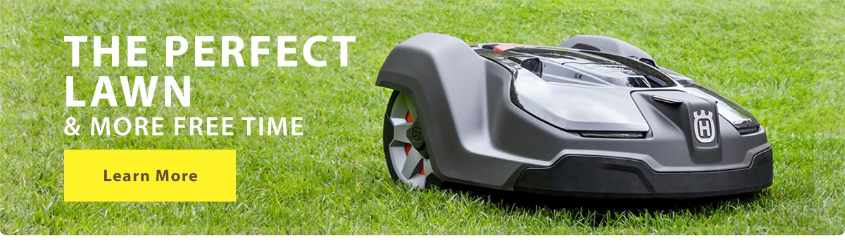 Get the perfect lawn with Automower