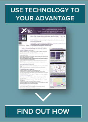 Find out How iCONECT XERA lediscovery software can help your document review project. Download the information sheet.