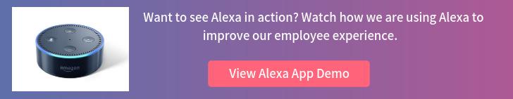 Alexa App Demo CTA