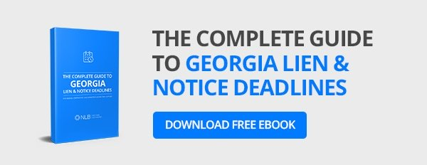 the complete guide to lien & notice deadlines