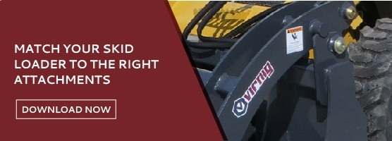 Checklist for Matching Your Skid Loader to Attachments